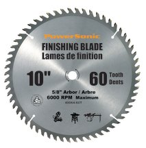"10"" Contractor's Saw Blade Carbide Tipped 60T"