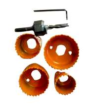 6 Pc Hole Saw Set