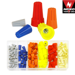 107pc Wire Connector Nut Assortment