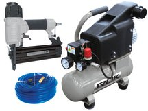 Air Compressor & Brad Nailer Combo Kit