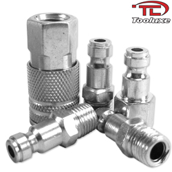 "5pc 1/4"" Steel Coupler Set-Truflate Type"