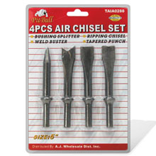 4PCS AIR CHISEL SET