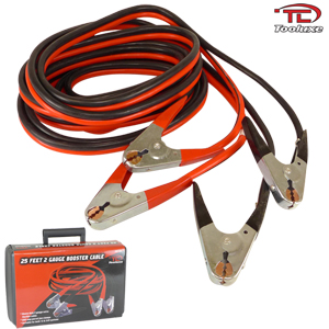 Booster Cable 25 Ft. 2 Gauge