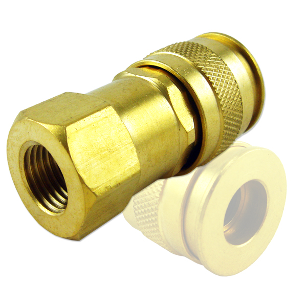 "1/4"" Male/Female Universal Quick Coupler"