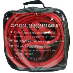 20FT X 1GA BOOSTER CABLE