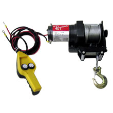 2000LB POWER WINCH W/12V CAR PLUG