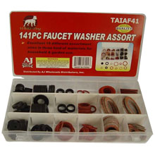 141PC FAUCET WASHER ASSORT