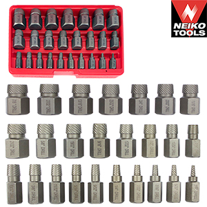 EXTRACTOR 25 PC MULTI SPLINE