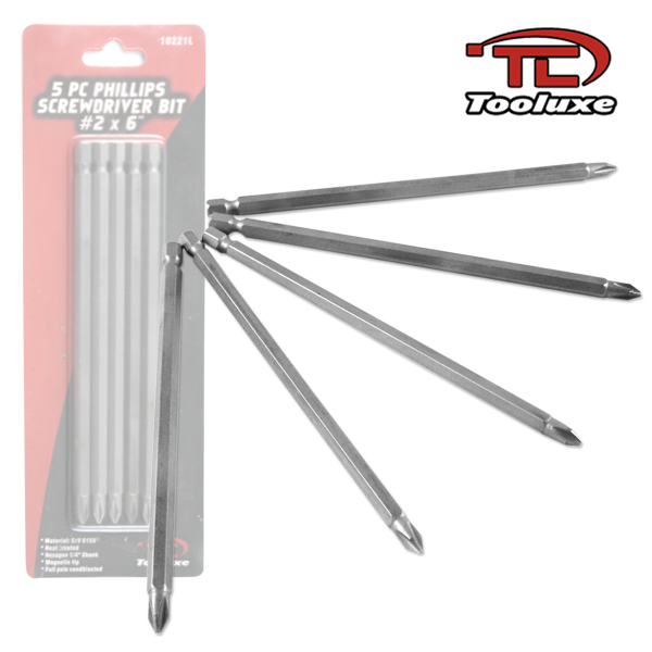 "6"" PHILLIPS SCREWDRIVER BIT"