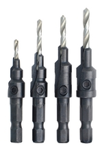 4 Pc Countersink Bit Set