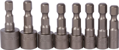 8 Pc Metric Nut Driver Set