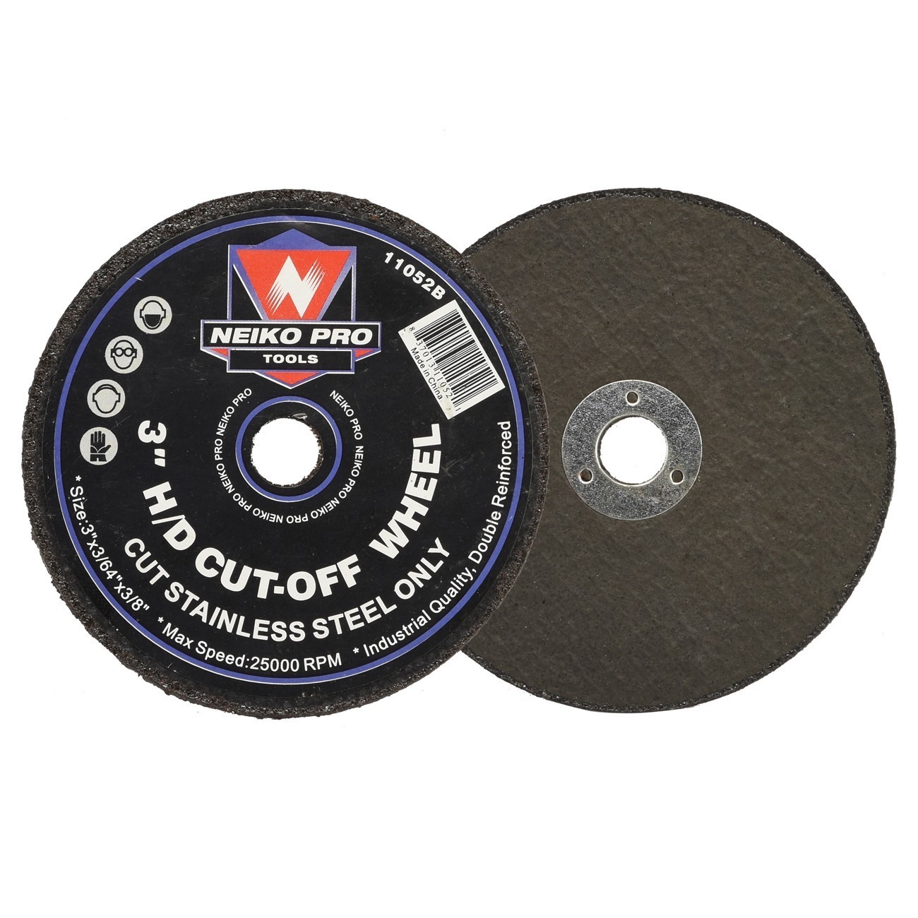 "Heavy Duty Cut-Off Wheel 3"" x 3/64"" x 3/8"""