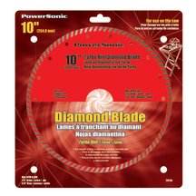"10"" Turbo Rim Diamond Blade"