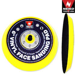 "6"" Velcro (Hook & Loop) Face Sanding Pad"