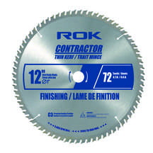 "12"" x 72T Finishing Blade TK"