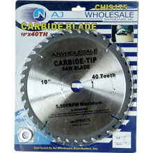 "10""x40T/60T/80T/100T CARBIDE SAW BLADE"