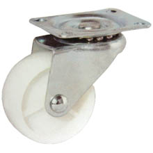 "1.5"" LIGHT DUTY PU SWIVEL CASTER"