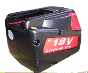 M18 18V/2.0A MILWAUKEE LI-ICON BATTERY