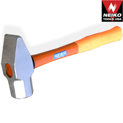 3.3lb Pein Hammer w/ F/G Handle, Forged Hammer