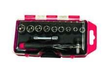 Screwdriver Bit and Socket Set 23 Pc