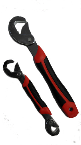 2PC UNIVERSAL PIPE WRENCH 9-32MM
