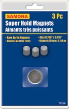 Super Hold Magnets 3 Pc Disc