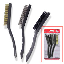 "3PC 9"" WIRE BRUSH"