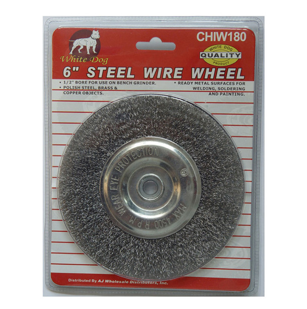"6"" STEEL WIRE WHEEL"