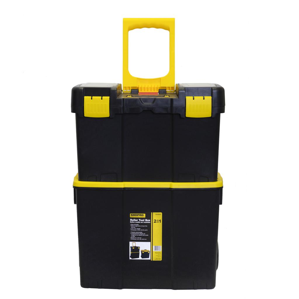 2-in-1 Roller Tool Box