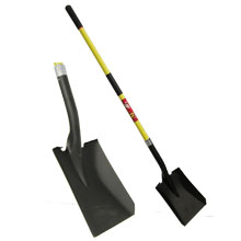 SQUARE SHOVEL F/B HDL