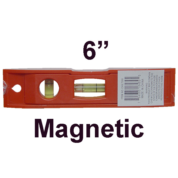 "6"" Magnetic Pocket Level"