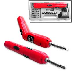 41pc 3.6V Foldable Cordless Screwdriver Kit