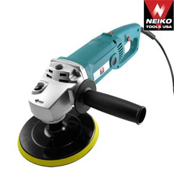 "7"" Polisher With Velcro Backing Pad - UL/CUL"