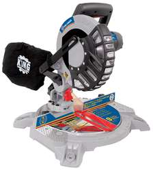 "8-1/4"" Compound Miter Saw with Laser"