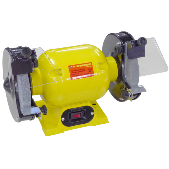 "6"" BENCH GRINDER 1/2 HP UL"
