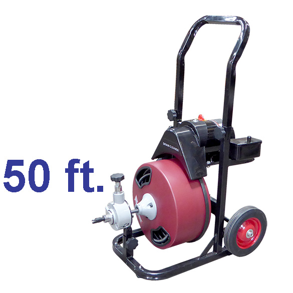 50FT POWER DRAIN CLEANER W/GFCI