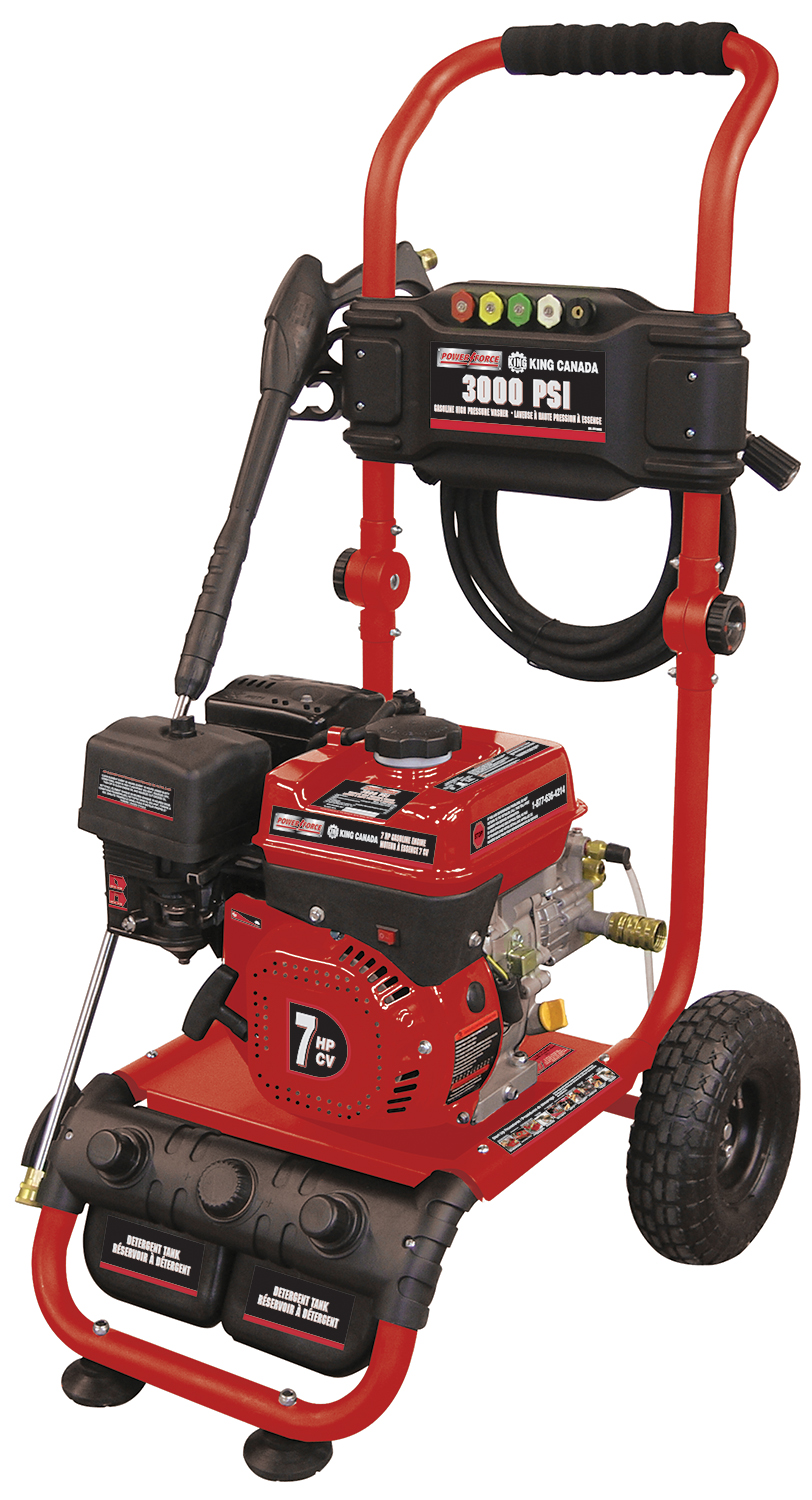 3000PSI, 4 Stroke Gasoline High Pressure Washer