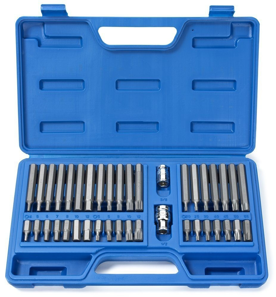 40pc S2 Hex Power Socket/Bit Set