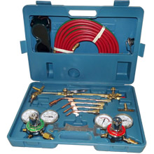 """Victor"" Type Gas Welding and Cutting Kit - Click Image to Close"