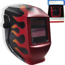 AUTO DARK WELDING HELMET - Click Image to Close