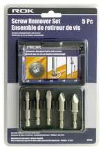 Screw Remover Set 5pc