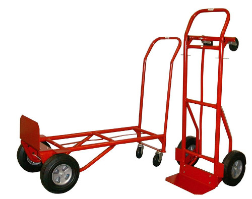 Heavy Duty Convertible Hand Truck/Cart With Solid Tire