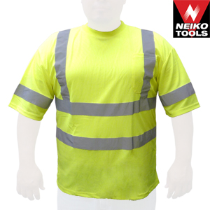 High Visibility Safety T-Shirt - Green